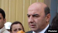 Էներգետիկայի եւ բնական պաշարների նախարար Արմեն Մովսիսյան