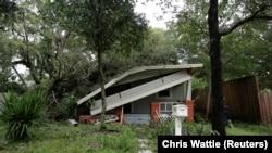 После урагана во Флориде: город Тампа, 11 сентября 2017 года