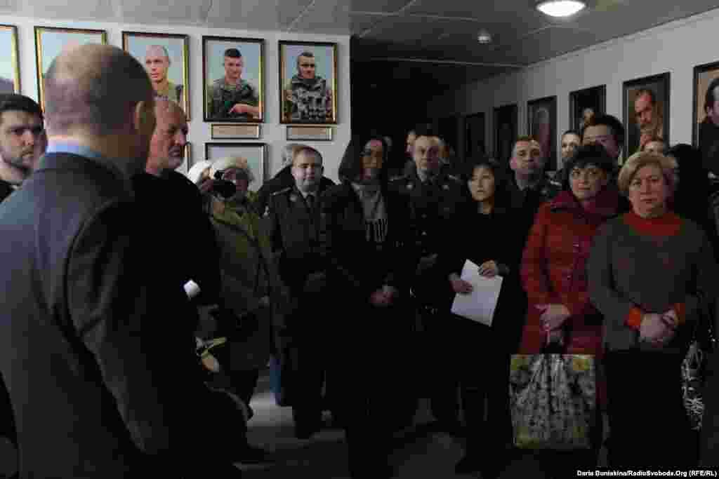 Міська влада пообіцяла підготувати книгу пам'яті про черкаських полеглих героїв, музейну експозицію та документальний фільм