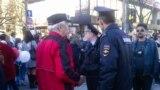 Задержание экс-президента Крыма Юрия Мешкова в Симферополе. Март 2019 года