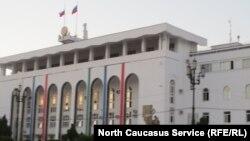 Daghestan - Makhachkala, central square, White House