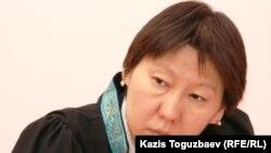 Судья Алмалинского райнного суда Шолпанай Умбеталиева. Алматы, 20 декабря 2010 года.