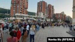 Protest u Užicu, 9. jul