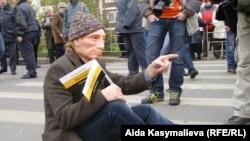 """Оьрсийчоь -- Оьрсийчура националистийн тобанийн декъашхой """"Оьрсийн марш"""" дIахьуш бу Москох, 04Лахь2011"""