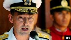 Адмирал Джеймс Ставридис, верховный главнокомандующий объединенными вооруженными силами НАТО в Европе.