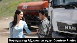 Элина Абай кызы и Адиз Ражапов.