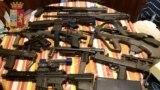 Вилучена італійськими правоохоронцями зброя