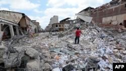 Ekvador, potres u aprilu 2016.