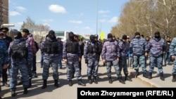 Алматы мен Нұр-Сұлтанда билікке талап айтқандарды ұстады