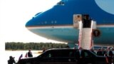 Cамолёт президента США Air Force One. Пулково, 2006 год