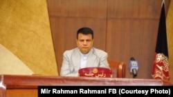 میررحمان رحمانی رئیس ولسی جرگه افغانستان