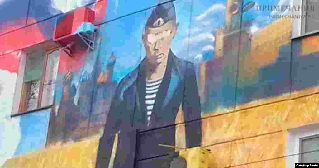 В Севастополе в январе «Путин с кондиционерами» остался без глаз. Случайность?