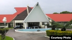 The parliament of Vanuatu in Port Vila