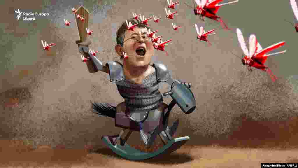Mihai Ghimpu luptă cu lăcusta roșie încă de mic. A câștigat multe bătălii iar într-o bună zi păruse să fi câștigat și războiul.