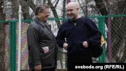 Віктар Івашкевіч і Зьміцер Бандарэнка