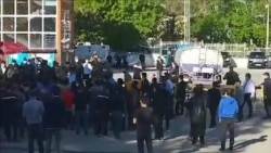 Tajik Police Use Firearms To Break Up Protest By Chinese Workers