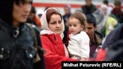 پناهجویان در مرز کرواسی و مجارستان