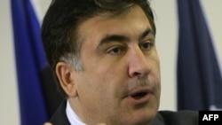 Михаил Саакашвили, президент Грузии.