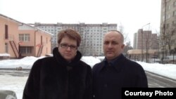 Илья и Оля Ханукаевы