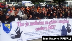 Sarajevo: Mirni protest gluhih i nagluhih osoba iz BiH
