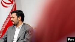 محمود احمدی نژاد رییس جمهوری ایران. (عکس از فارس)