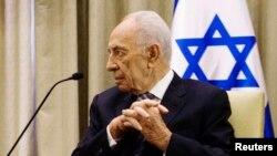 Jerusalem - Presidenti i Izraelit Shimon Peres (Ilustrim)