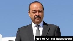 Uzbek Prime Minister Abdulla Aripov (file photo)