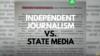 Proteste jurnalistice împotriva dezinformării