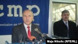 Valentin Inzko u posjeti ICMP-u, 01.02. 2011.