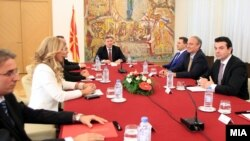 Pamje nga seanca e Këshillit të Sigurisë, Shkup 30 shtator 2014