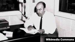 Чилийский поэт Пабло Неруда в Библиотеке конгресса США. 1966 год.