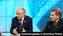 Депутаты Госсовета РТ Разиль Валеев и Роберт Миннуллин