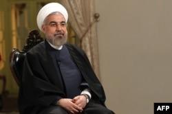 Президент Ирана Хасан Роухани. Тегеран, 5 февраля 2014 года.