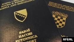 Pasoš Bosne i Hercegovine i Hrvatske