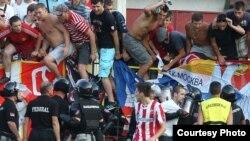 Sa utakmice Javor - Crvena zvezda, FOTO: Milan Rašić, Sportski žurnal