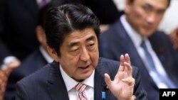 Сіндзо Абе, прем'єр-міністр Японії