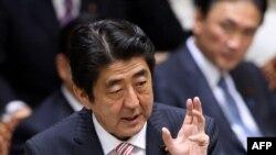 Япония бош вазири Синдзо Абэ