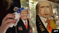 Матрешки Трамп и Путин