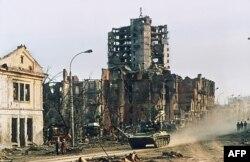 Грозный, февраль 1995 года