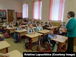 Паша ходит в обычную школу