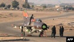Истребитель иорданских ВВС. Иллюстративное фото.
