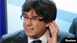 Відсторонений лідер іспанського регіону Каталонії Карлес Пучдемон