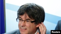Карлес Пучдемон, бывший глава Каталонии.