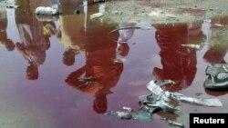Архивска фотографија: Садр Сити по еден бомбашки напад на 23 април 2010 година.
