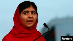 Malala Yousafzai is in The Hague to receive the International Children's Peace Prize 2013. (file photo)