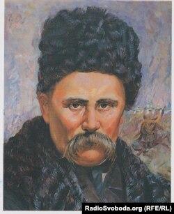 Портрет Тараса Шевченка. Автор – Федір Габелко, 1987 рік