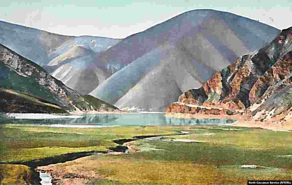 Озеро Кезеной-Ам, Чечня.