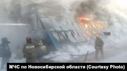 Сӯхтор дар Новосибирск