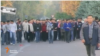 Kyrgyzstan Bishkek video grab protest