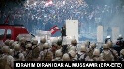 تصویری از اعتراضهای لبنان